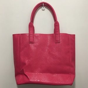 Neiman Marcus Bags - Hot Pink Shopping Tote Neiman Marcus